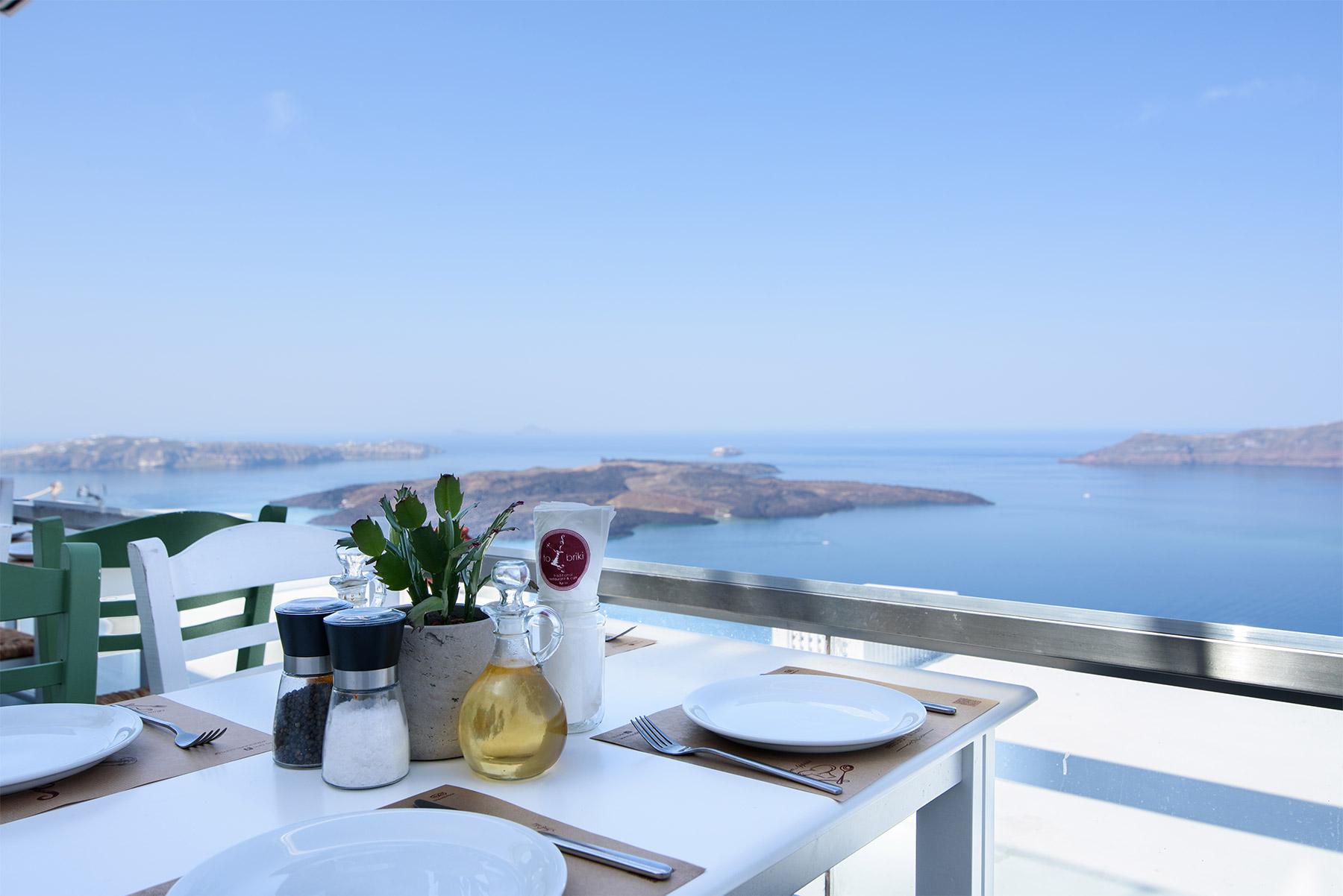 To Briki - Traditional Restaurant Cafe Santorini